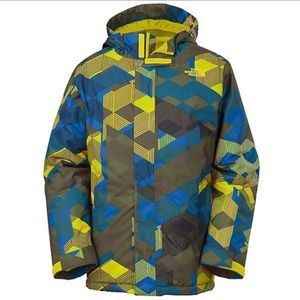 THE NORTH FACE Insulated Boys Ski Jacket - L
